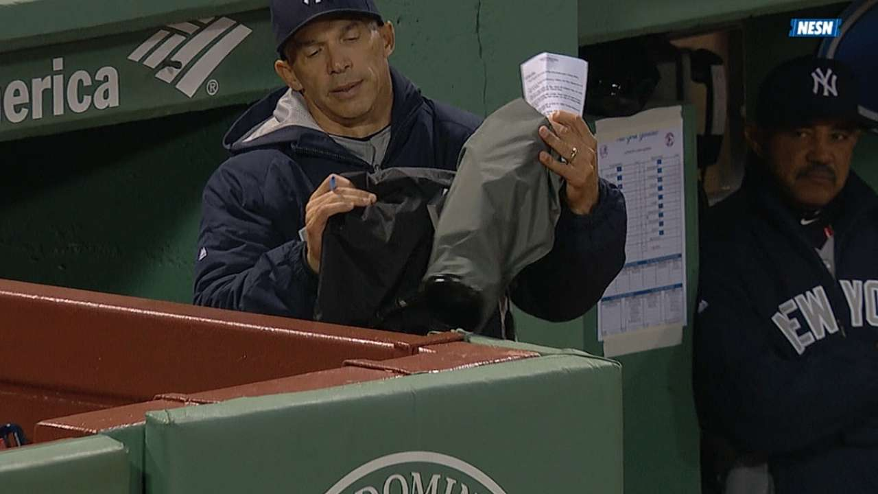 Girardi won't face discipline for shoving camera