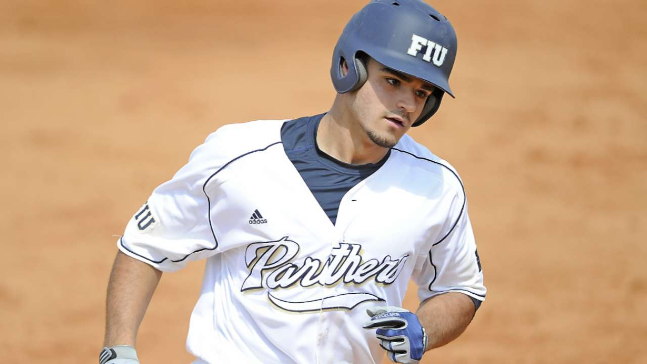 Giants take FIU catcher Garcia with 52nd pick