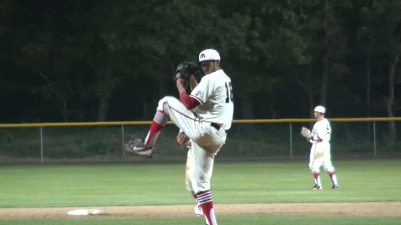 Arkansas righty Oliver to Phils in fourth round