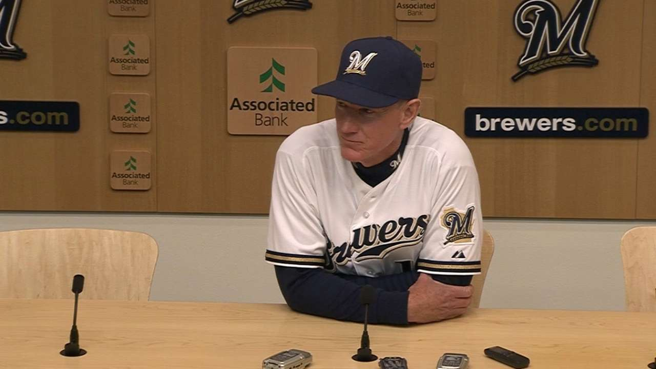 Brewers' quick rise a statement to rivals