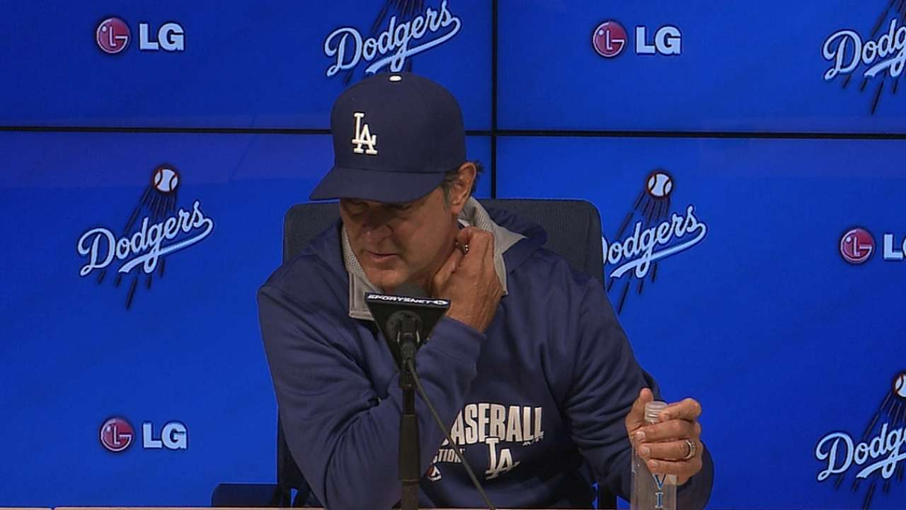 Mattingly challenged by outfield surplus