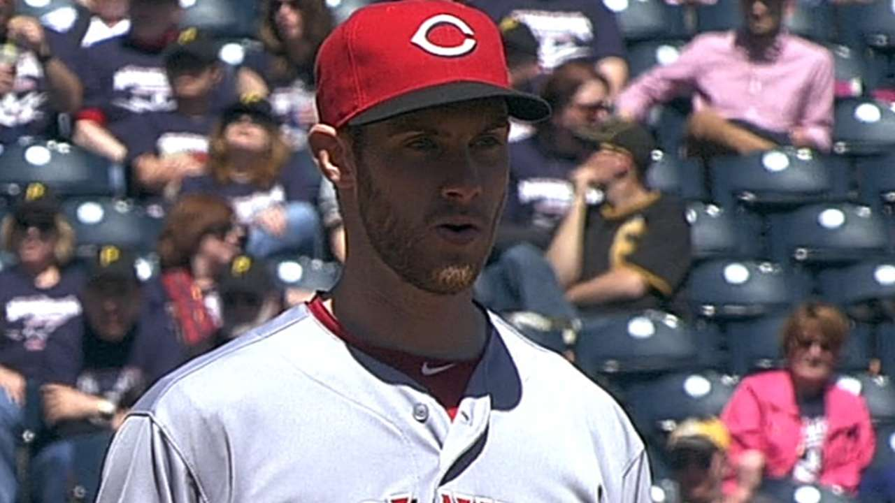 Cingrani to return for finale vs. Phillies