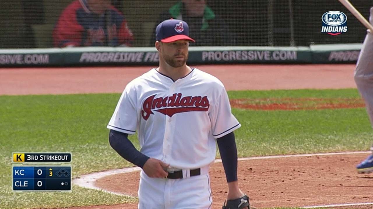 Kluber's first CG completes series win over KC