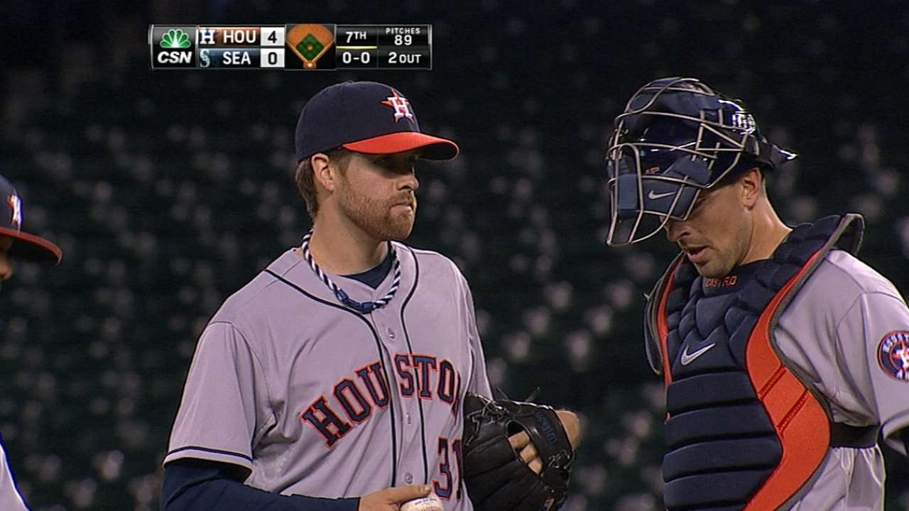 McHugh carves up 12 in dominant Astros debut