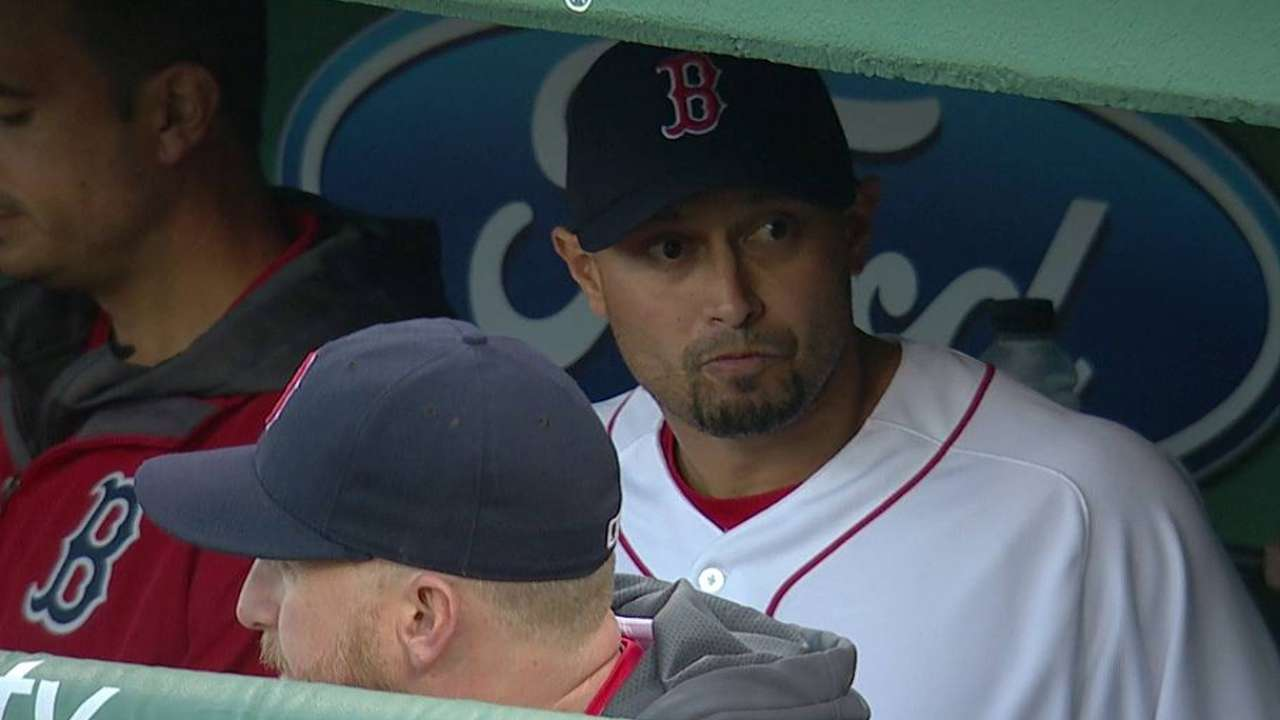 After missing 22 games, Victorino returns to lineup