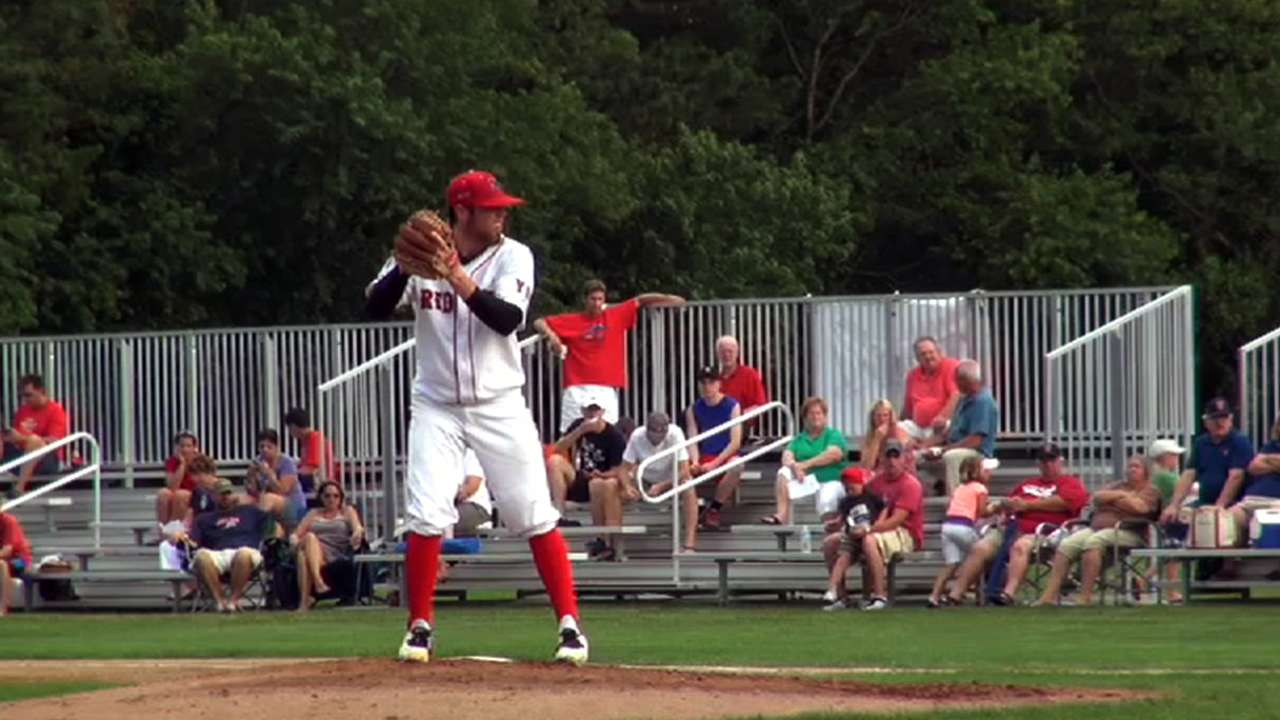 Fireballing righty goes to Giants in fifth round