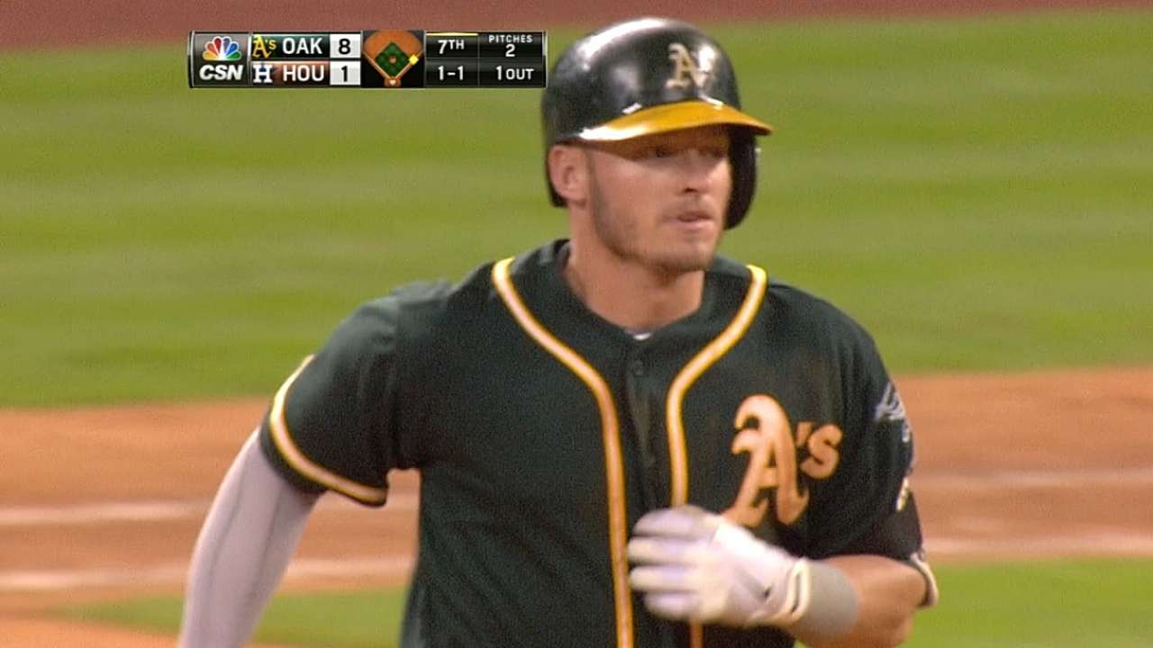 Donaldson's two homers fuel rout in Houston