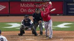 Pujols' ninth homer leads Halos' Bronx thumping