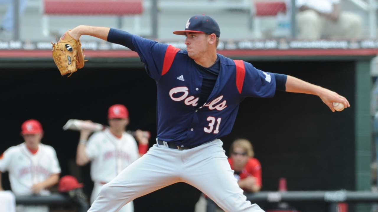 College lefty Gomber picked by Cards in Round 4
