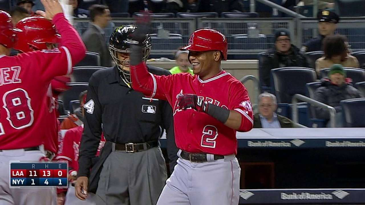 Shift in stance has Aybar on a tear