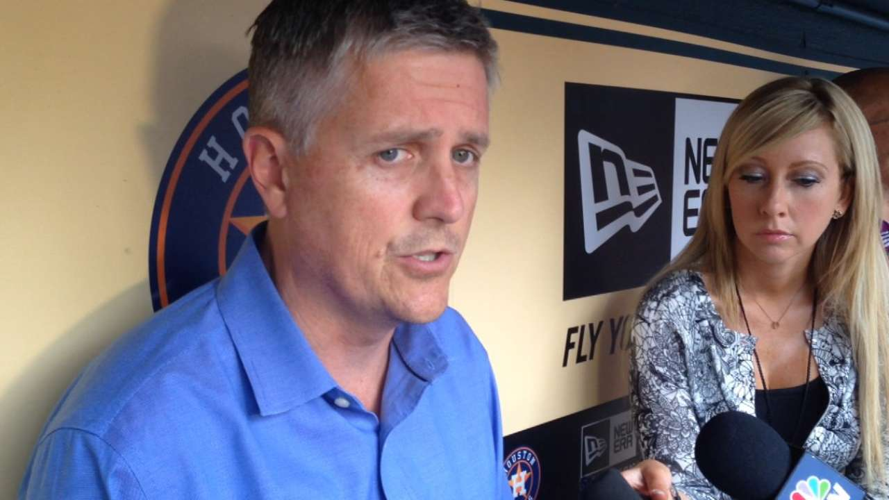Luhnow, Astros keep prepping for June's Draft