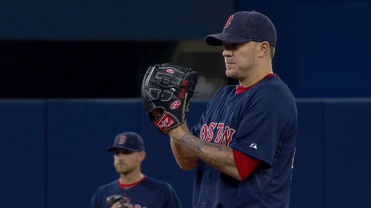 Off-days allow Farrell to flip Doubront and Peavy