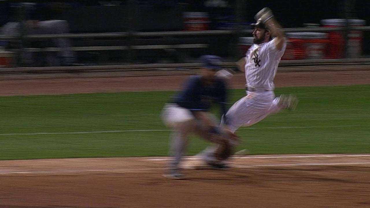 Call confirmed after Maddon's ninth-inning challenge
