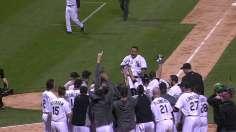 White Sox win on Abreu's walk-off grand slam
