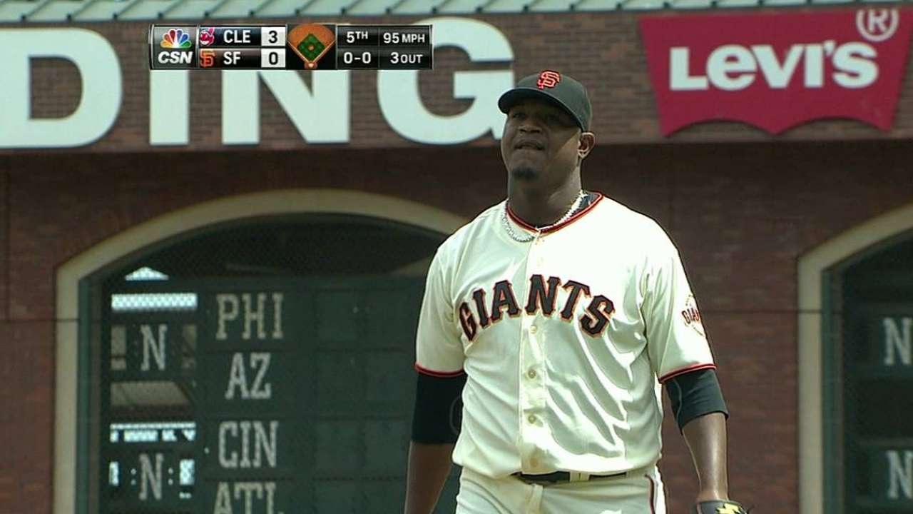 Giants relievers undaunted by pressure situations
