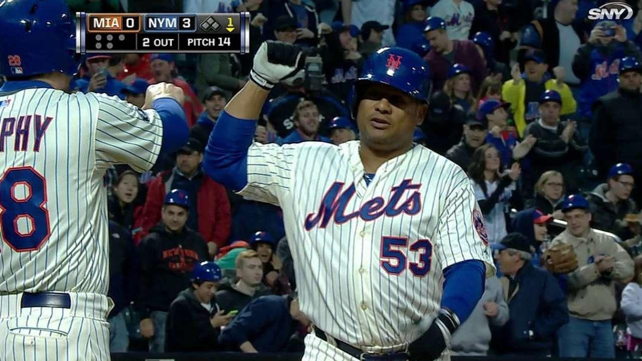 Abreu jonronea pero Mets son superados por Marlins