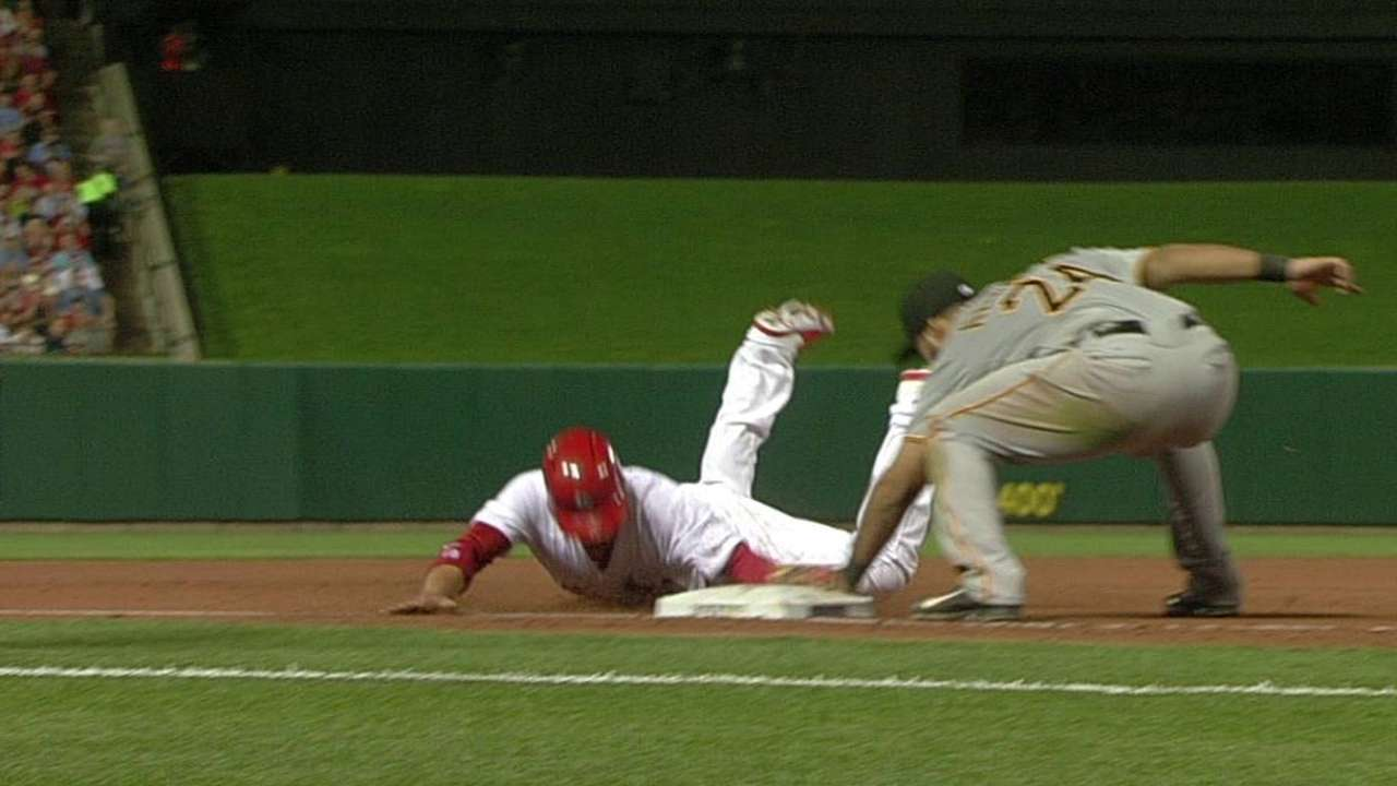 Pirates win challenge to prevent a Cardinals run