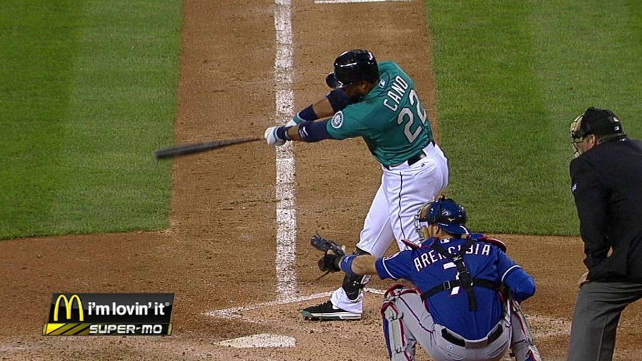 Cano swinging at better pitches