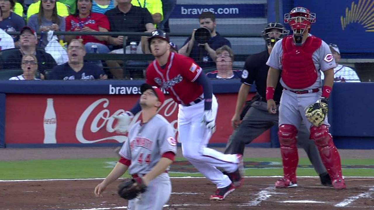 Braves ride Hale, home runs to win vs. Reds
