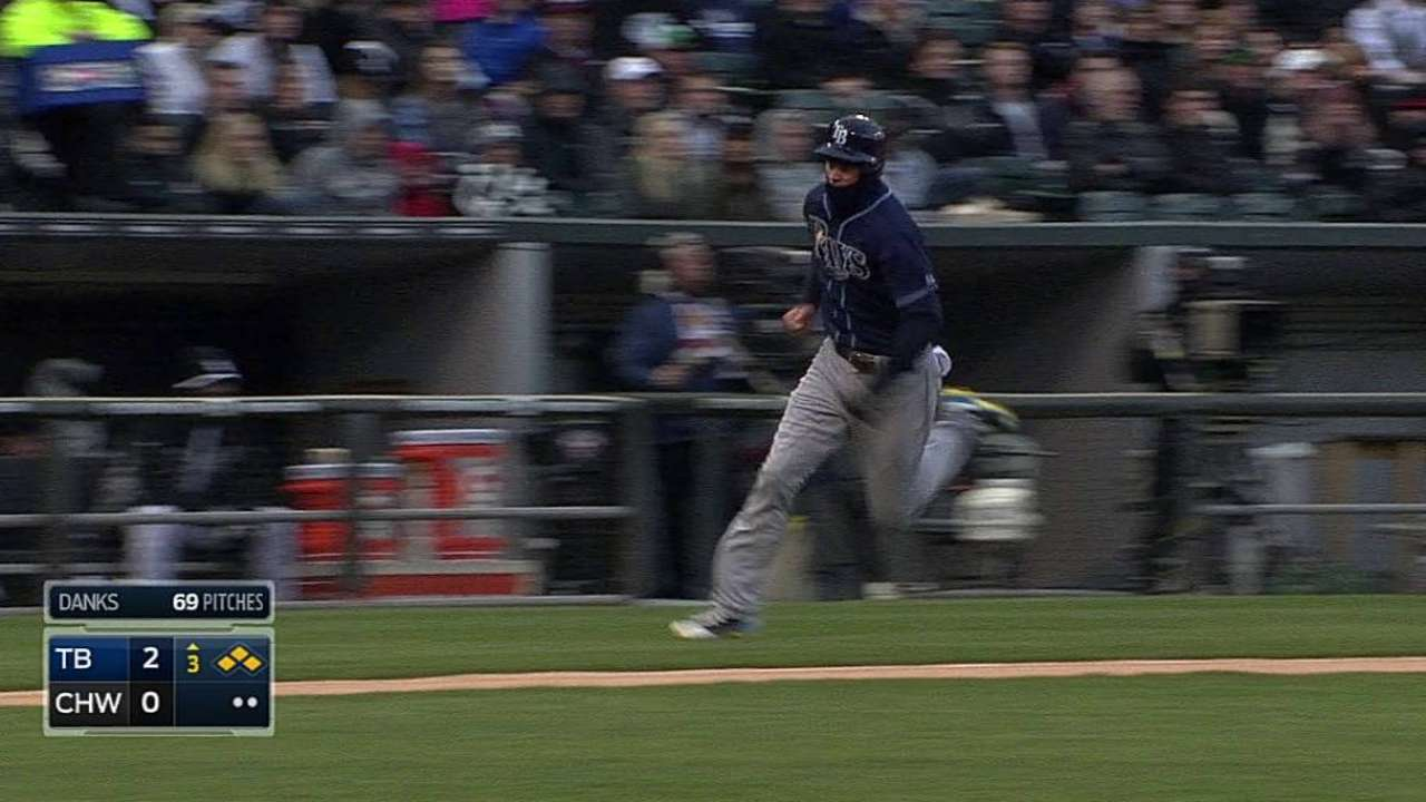 Loney fields praise for play at first base