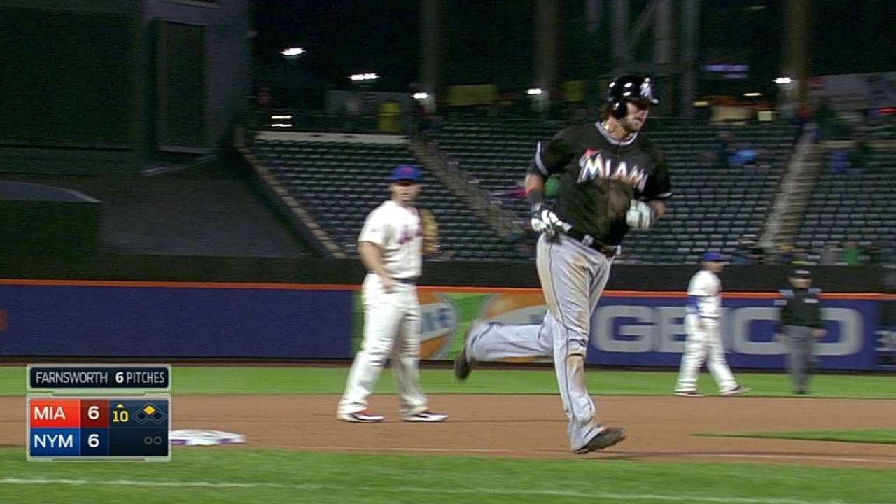 Salty tater in 10th helps Marlins escape Mets