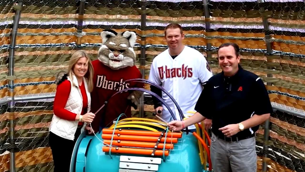 D-backs unveil Children's Museum exhibit, give $100K