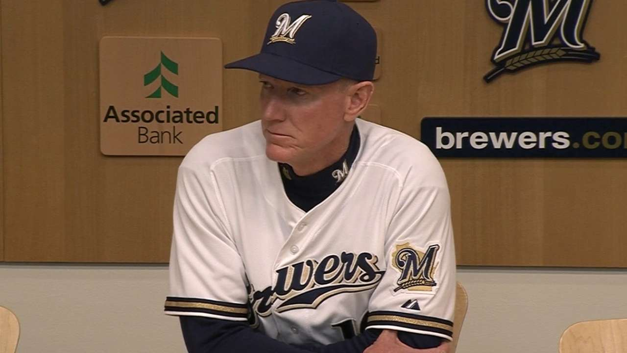 Braun, Segura injuries leave Brewers shorthanded