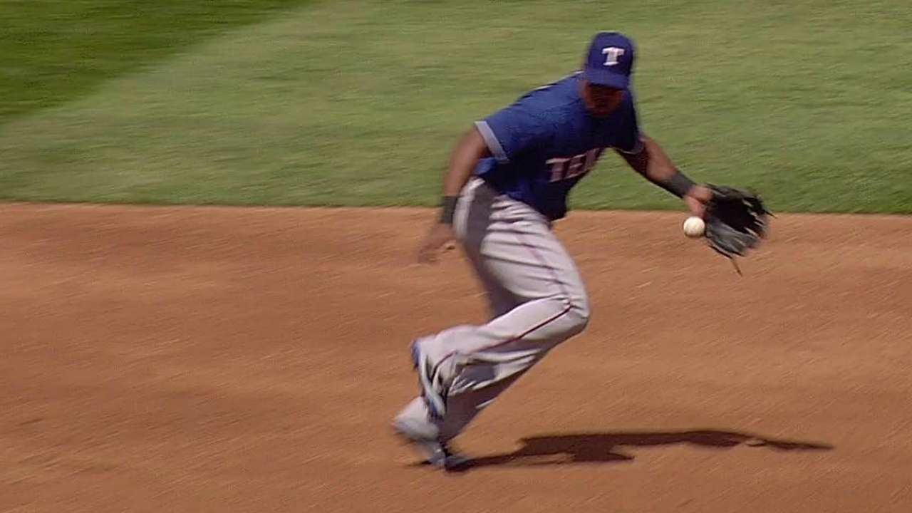 Beltre trying to get untracked