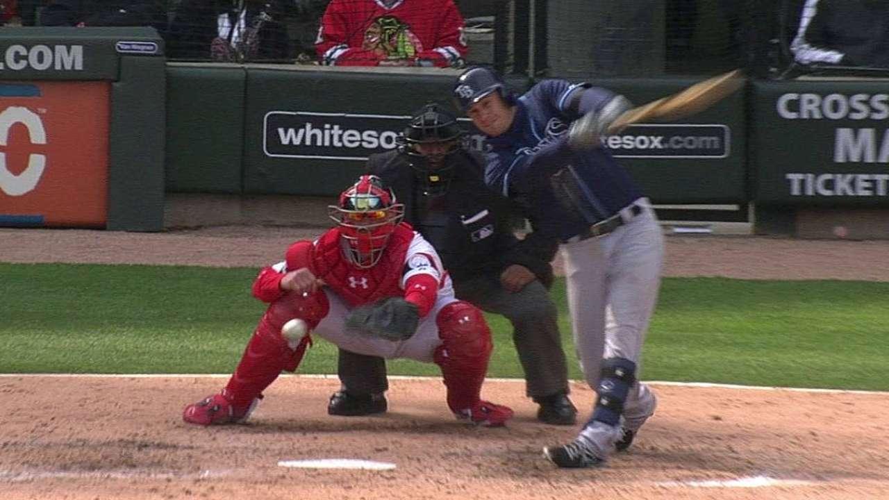 Errores en la sexta hundieron a rays vs. White Sox
