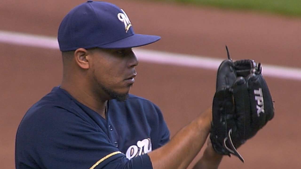 Peralta solid, but offense stifled by Hammel