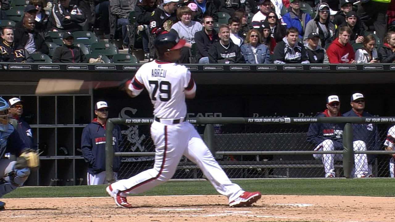Abreu sets rookie RBI mark for April