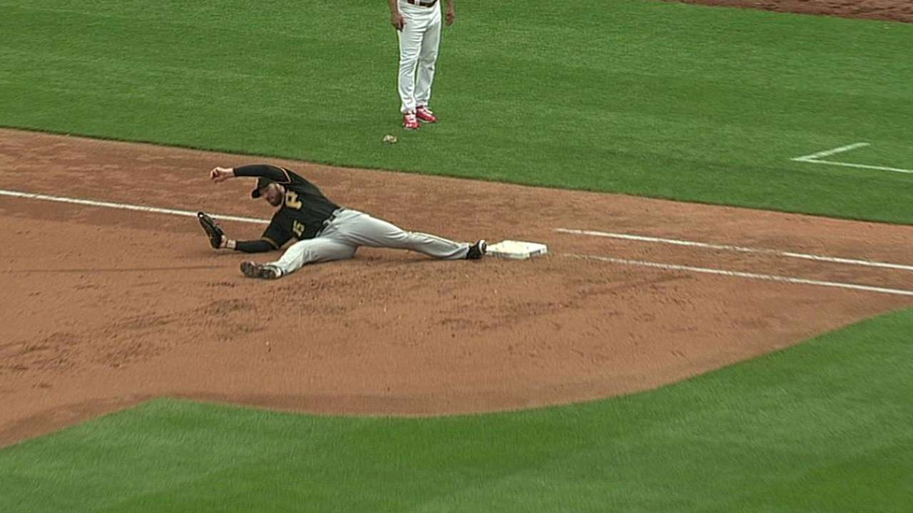 Pirates lose challenge, give way to Cards' rally