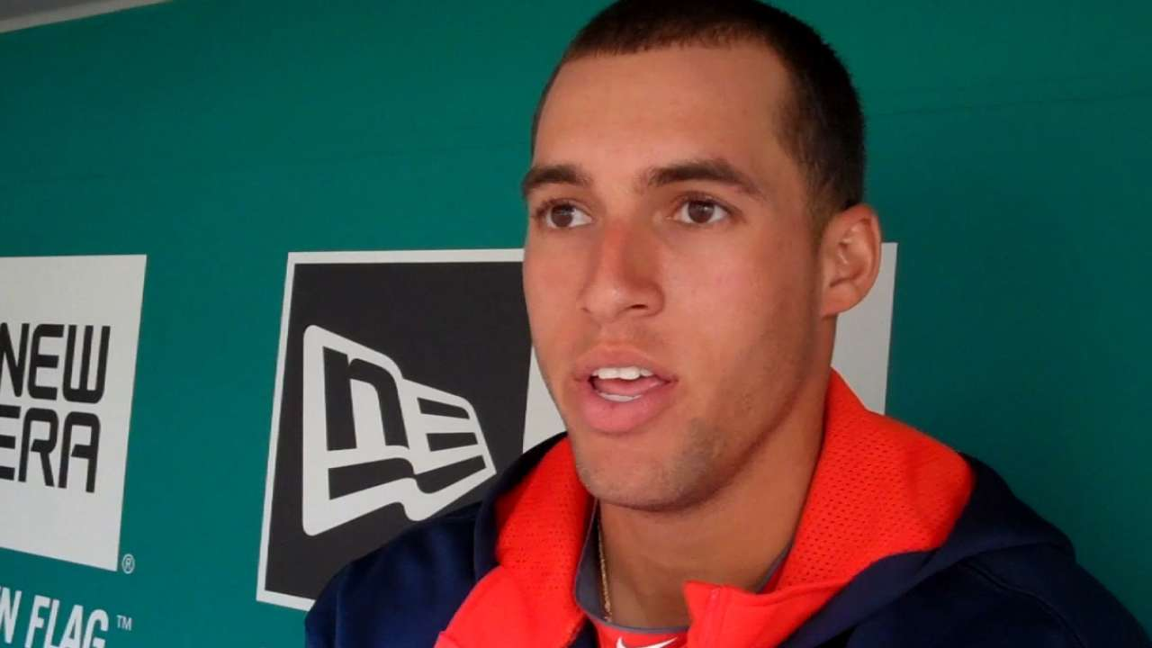 Springer brings perspective to life and baseball