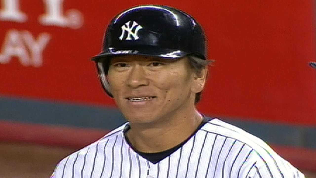 Yankees to 'sign' and honor Matsui on July 28