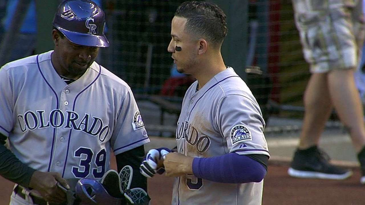 CarGo, Rockies hunden más a D-backs en Arizona
