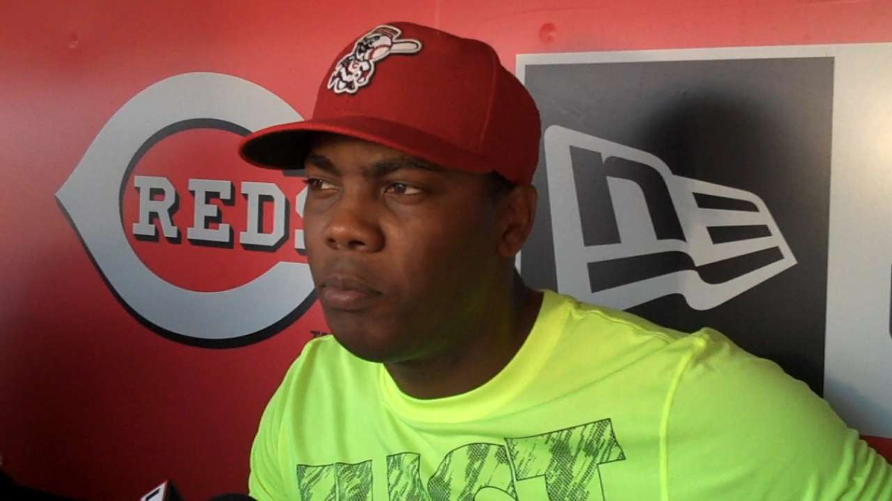 Chapman says he's ready for rehab assignment