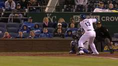 Salvy driving force behind Royals' six-run 8th