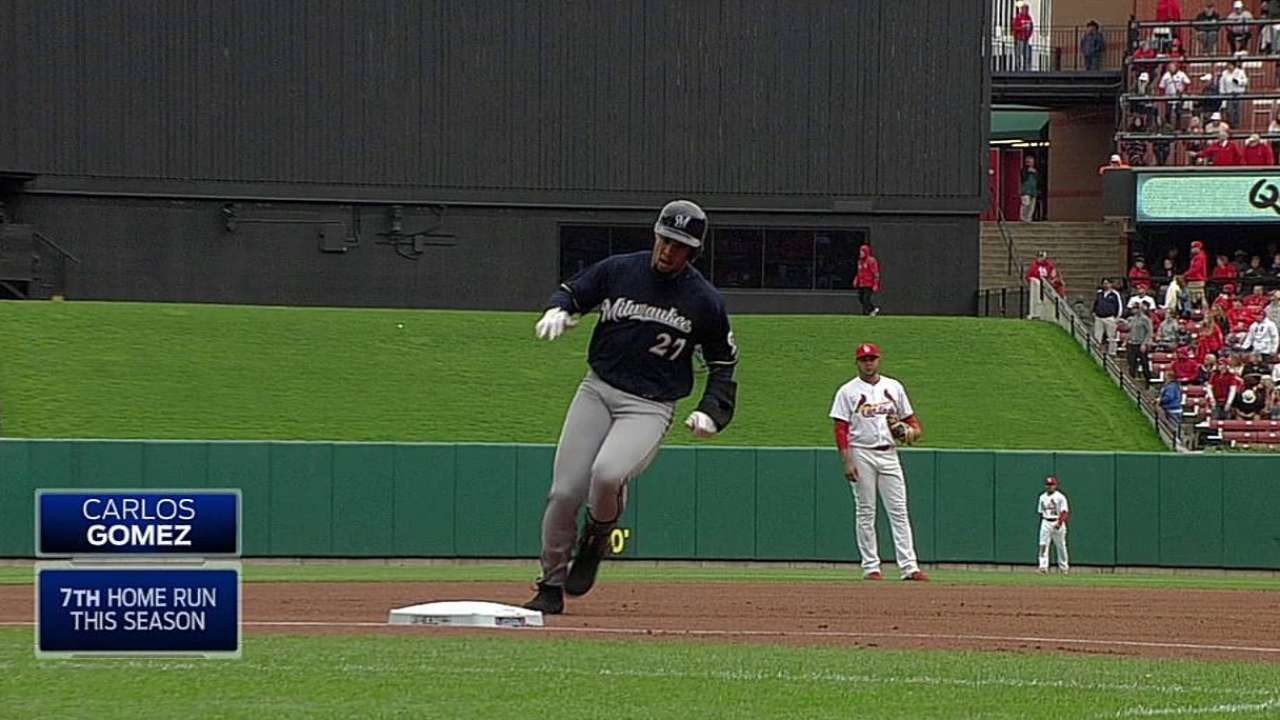 Garza's injury one Brewers can't overcome
