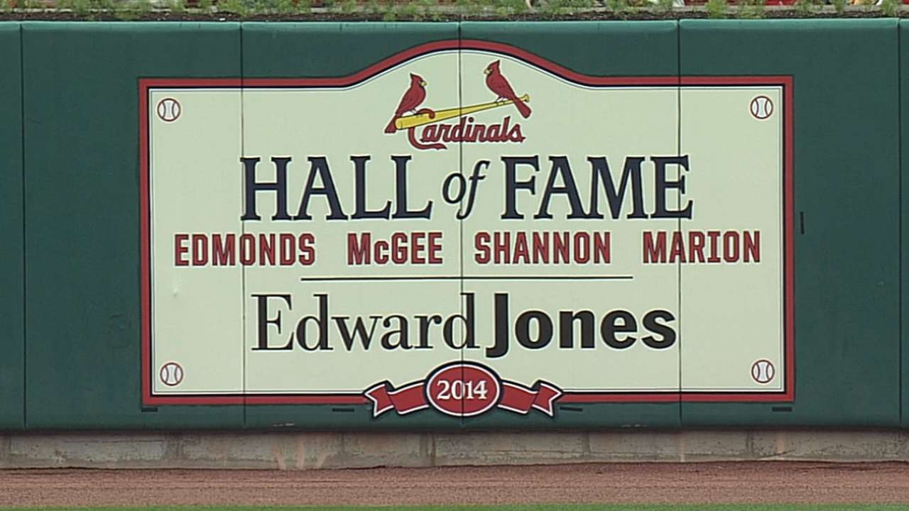 McGee among four to enter Cards Hall of Fame