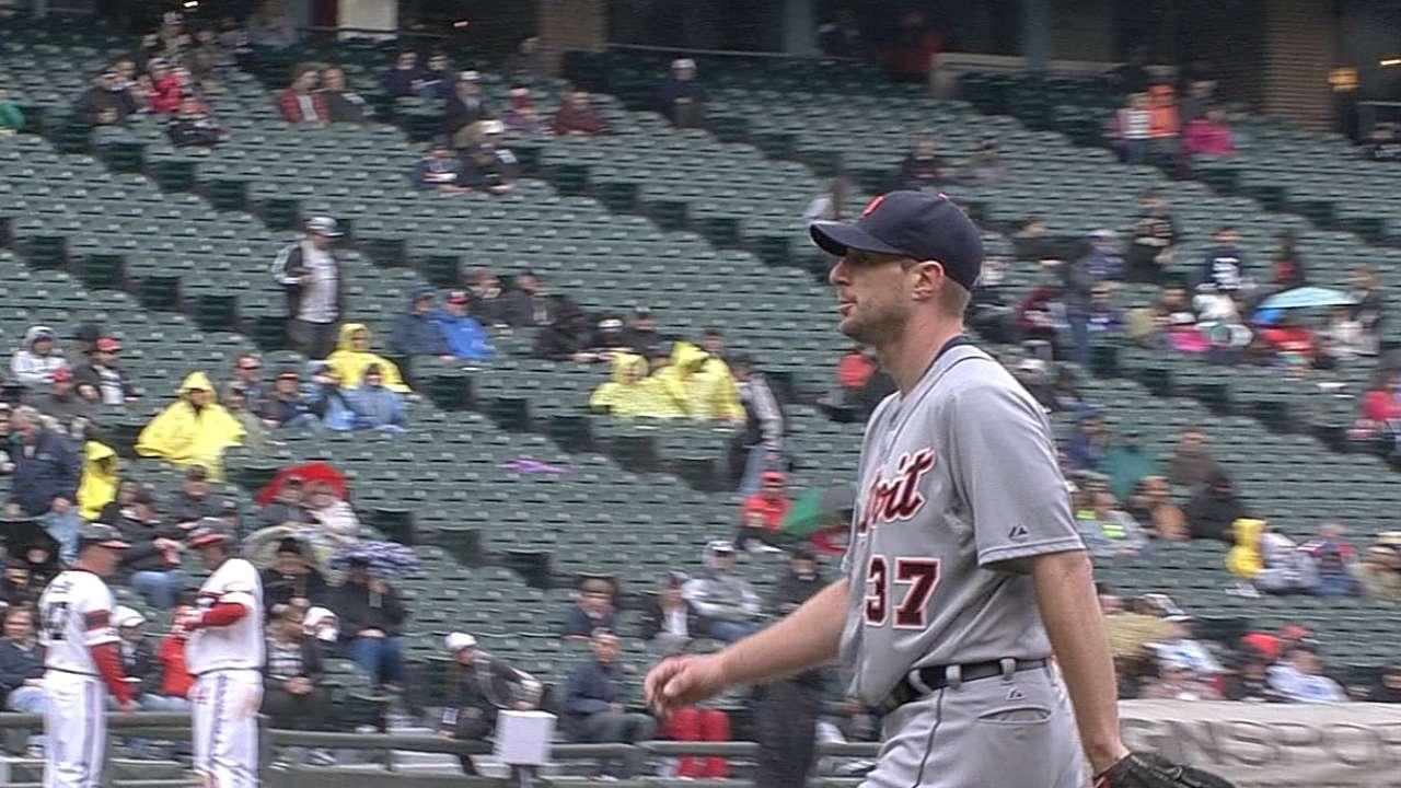 Scherzer stifles White Sox for third straight win