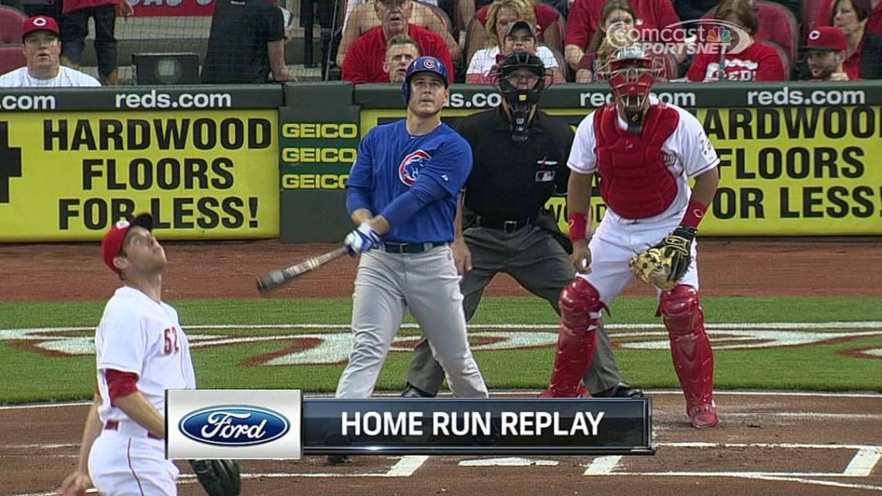 Rizzo powers Cubs past Reds in series finale