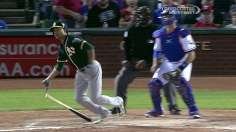 A's get payback with road sweep of Rangers
