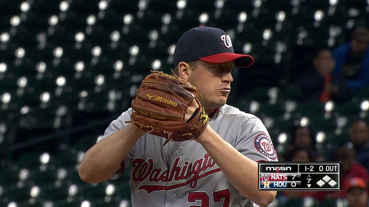 Zimmermann sets Nationals mark for wins