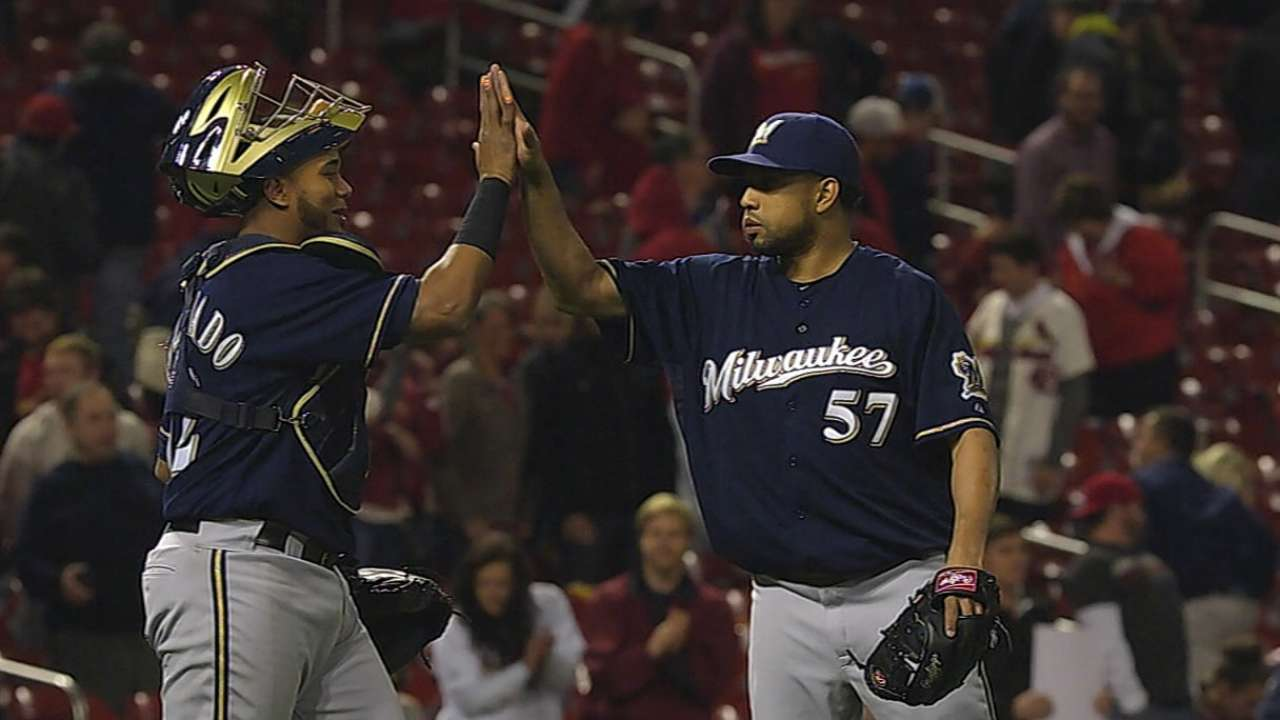 It's been an especially Happy April for Brewers, A's