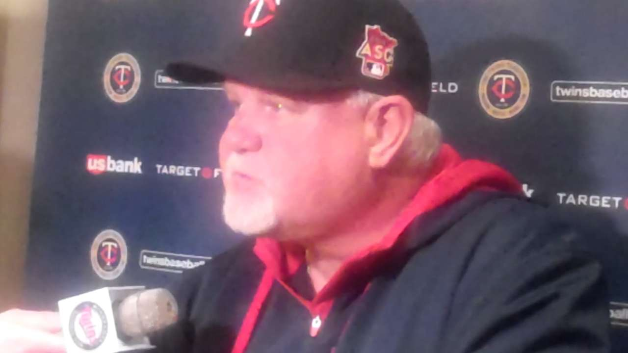 Gardy expecting more balance from Twins