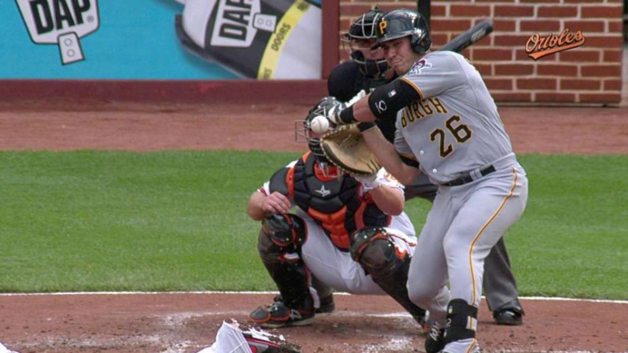 HBP call overturned after Orioles' challenge
