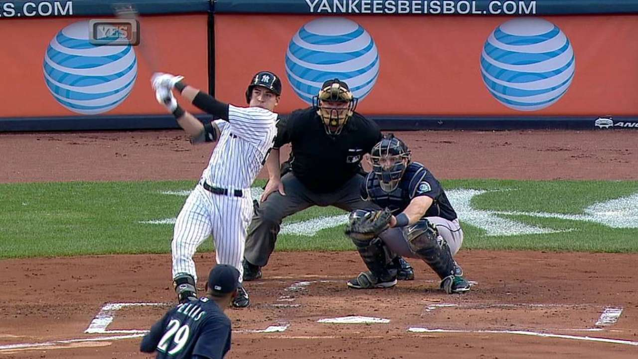 Ellsbury returns, hits first homer as Yankee