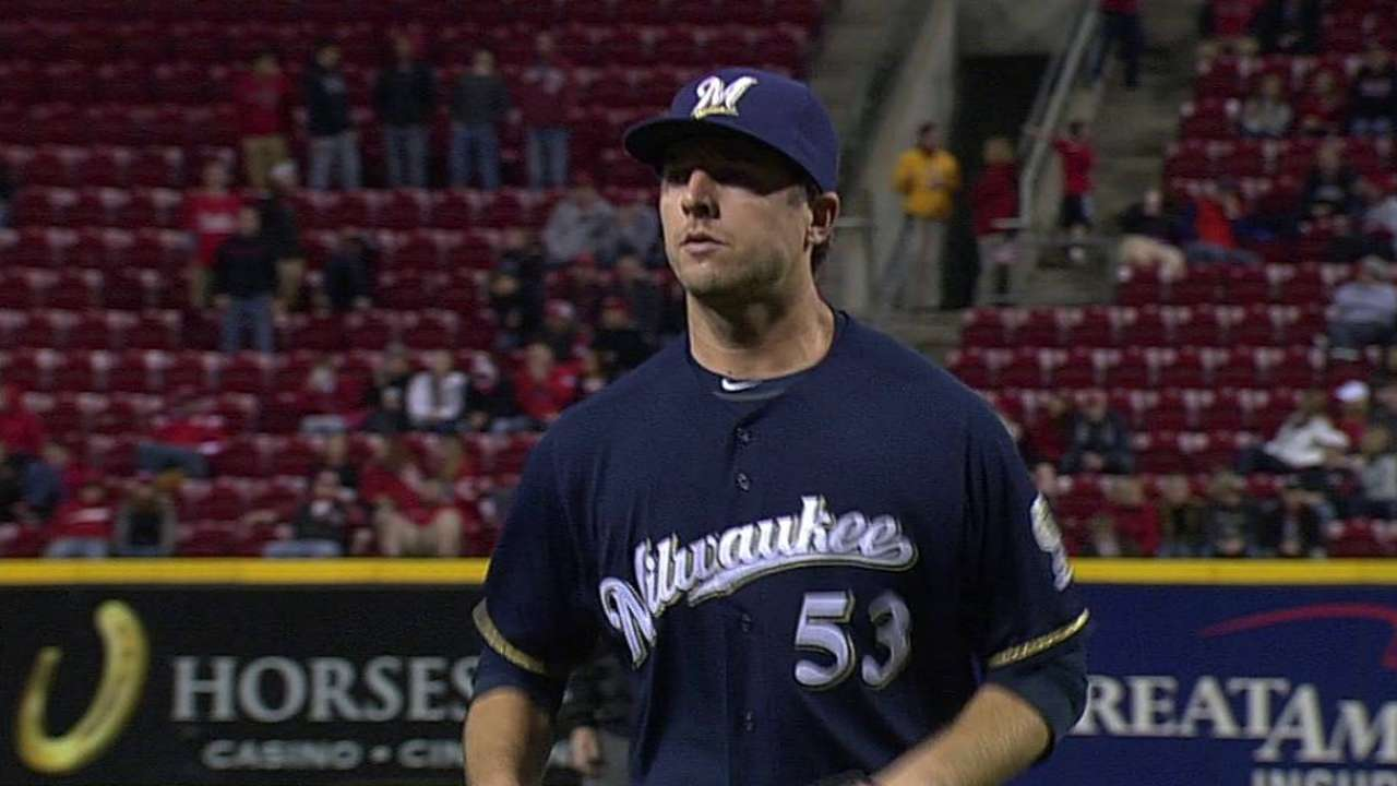 Crew gives Kintzler chance to recover '13 form