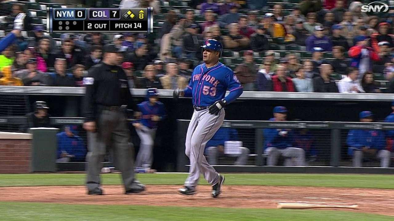 Lagares providing spark atop Mets lineup