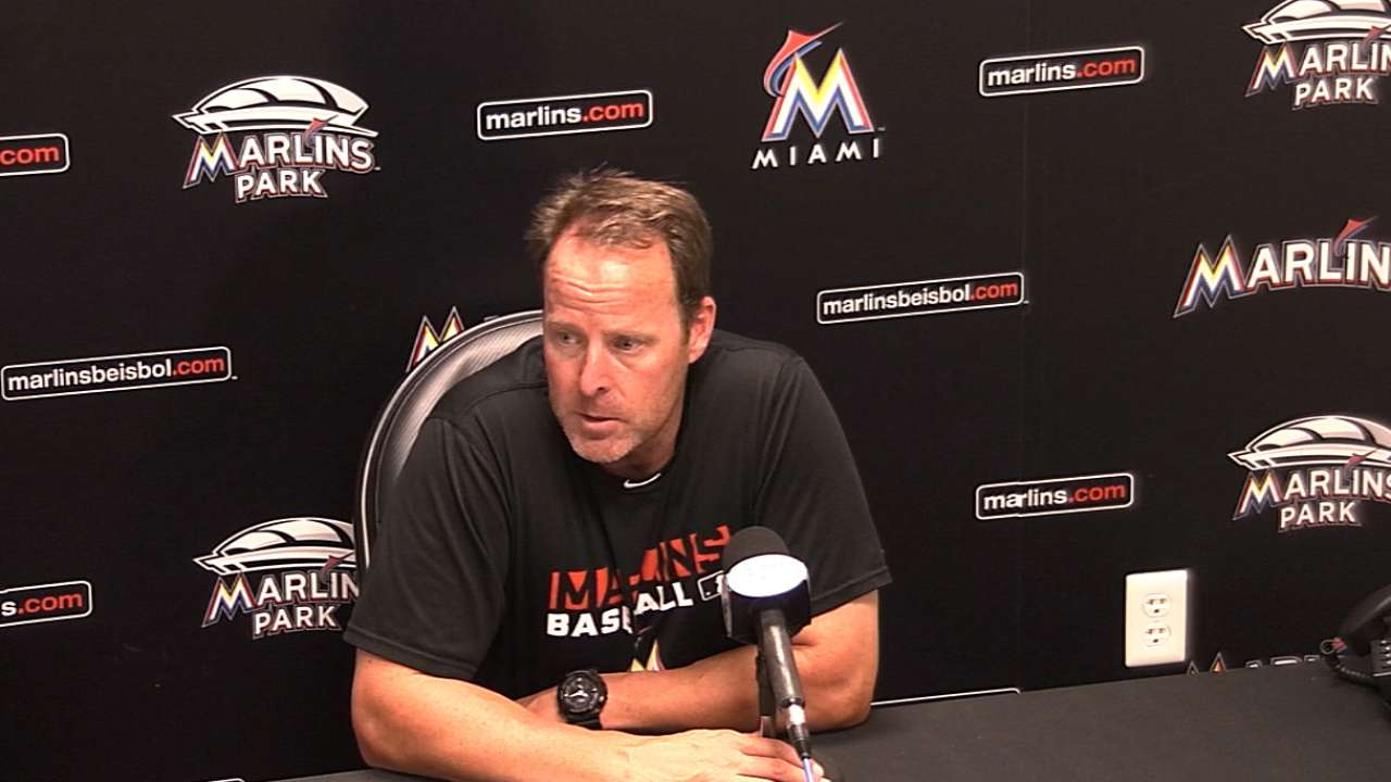 Marlins respond to stealing signs speculation